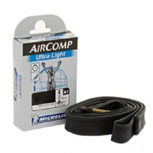 3 X MICHELIN AIRCOMP ULTRA LIGHT INNER TUBES - 700C X 18MM-23MM - 40MM VALVE